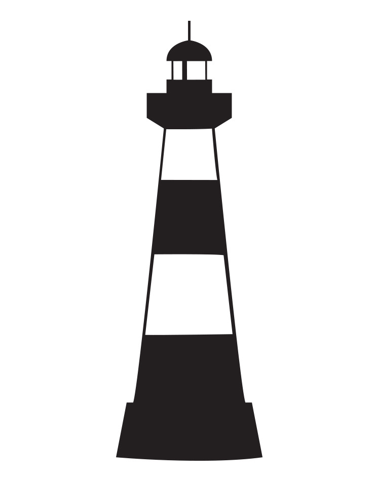 740x945 Vinyl Wall Art Decal Sticker Lighthouse