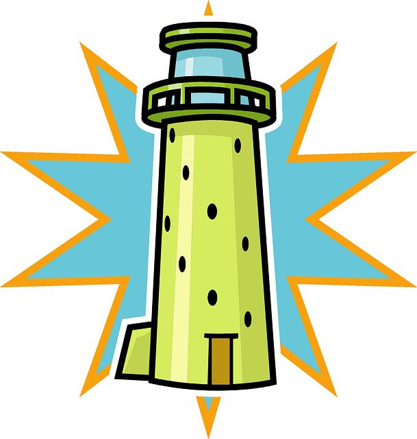 609x640 Lighthouse Clip Art Clipart Kid