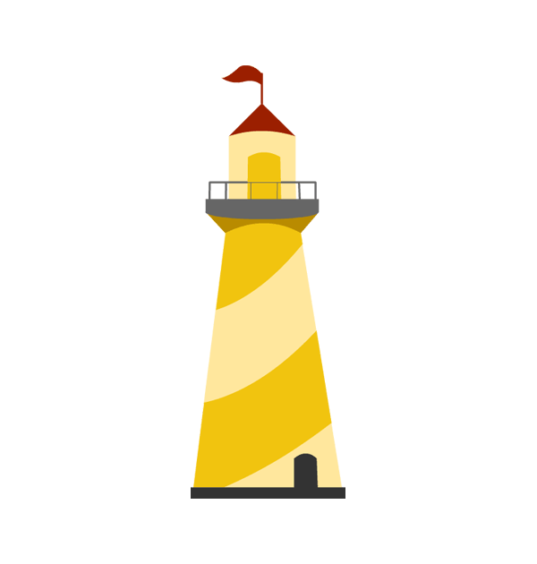 600x630 Lighthouse Clipart 2 Clipartcow