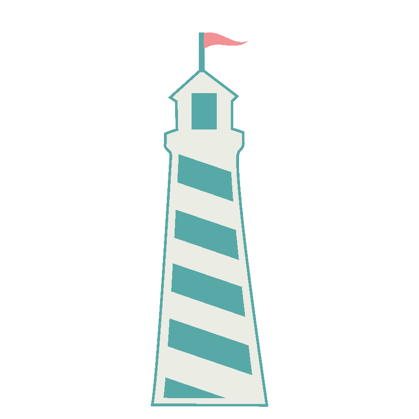 864x864 Lighthouse Clipart Cute