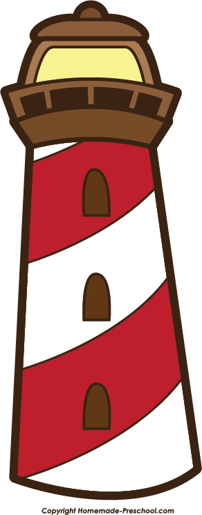 292x745 Lighthouse Clipart Transparent