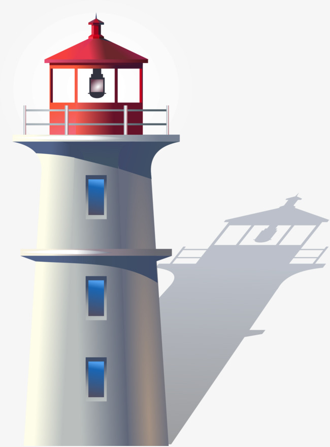 650x880 Vector Hand Painted Lighthouse, Vector Diagram, Hand, Lighthouse