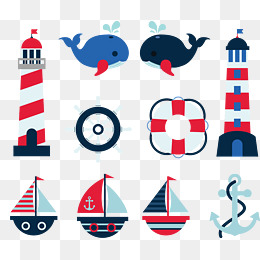260x260 Cartoon Lighthouse Png, Vectors, Psd, And Icons For Free Download