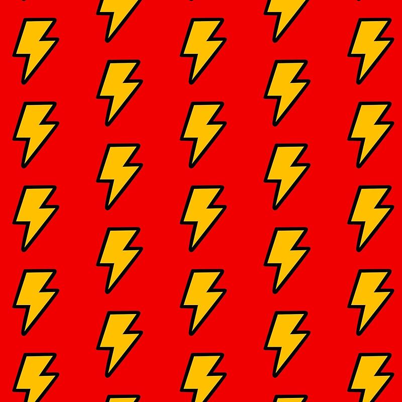 800x800 Cartoon Lightning Bolt Pattern Tote Bags By Jezkemp Redbubble
