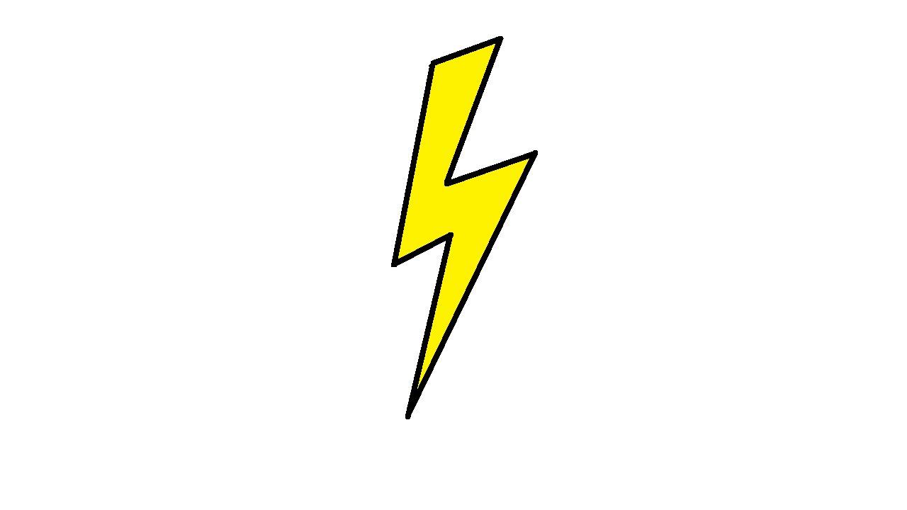 1280x720 Drawn Lightning