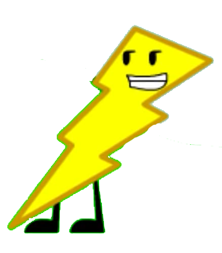 438x498 Lightning Bolt Inanimate Fight Out Wiki Fandom Powered By Wikia