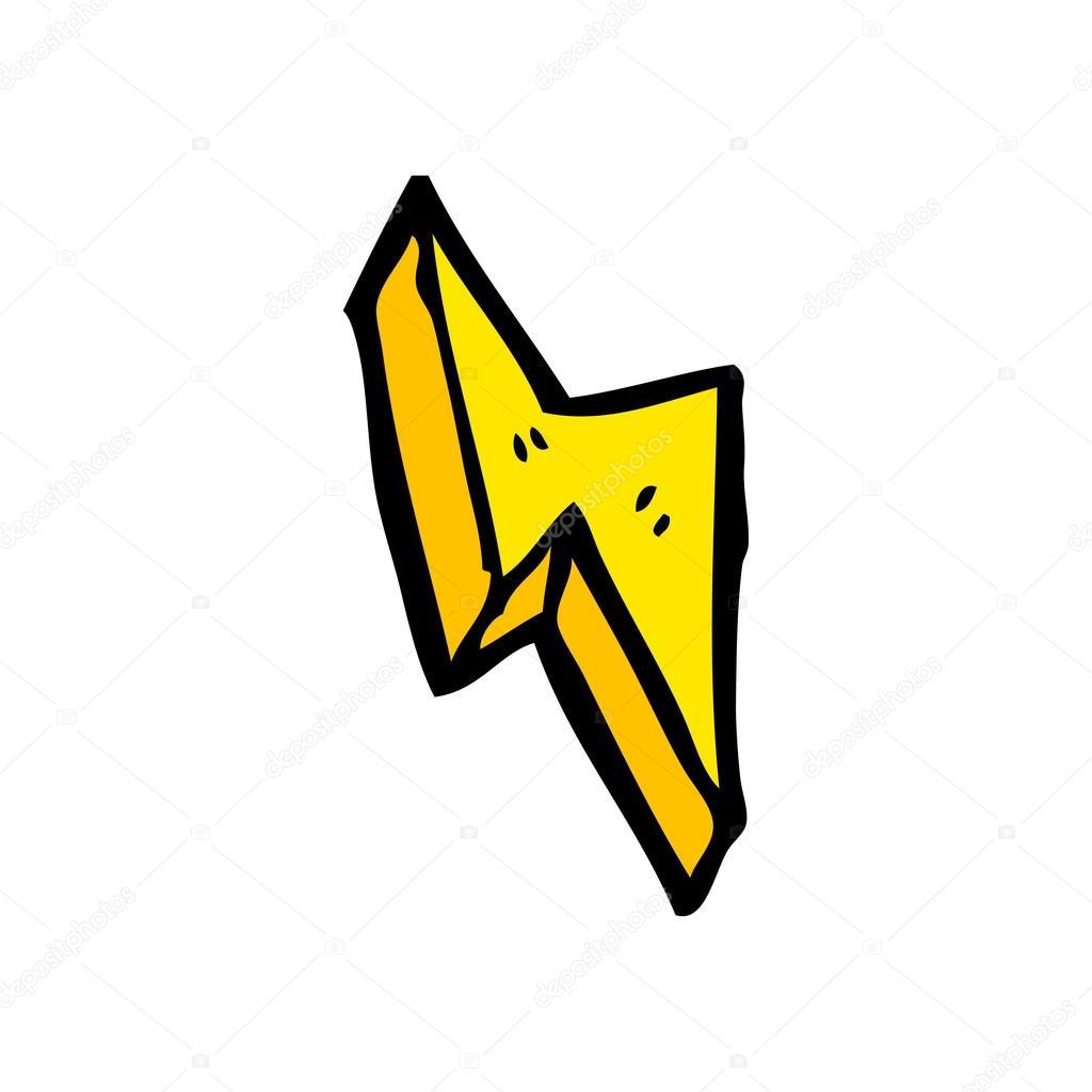 1024x1024 Lightning Bolt Cartoon Stock Vector Lineartestpilot