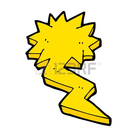 450x450 Cartoon Lightning Bolt Symbol Royalty Free Cliparts, Vectors,