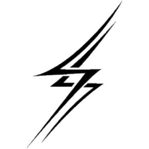 300x300 Images Of Lightning Bolts Clip Art Clipartfest