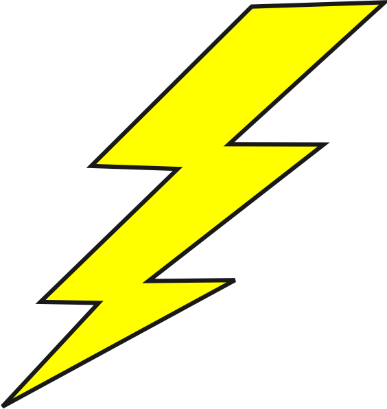 564x596 Lightning Bolt Logo Lightning Bolt Clip Art Company Logo