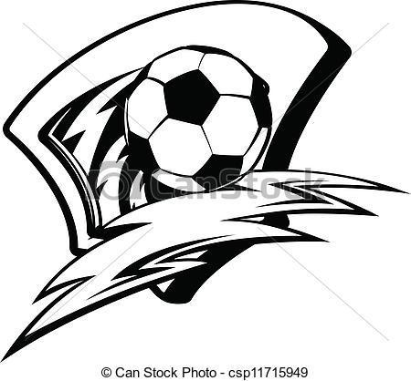 450x418 Soccer Clipart Lightning
