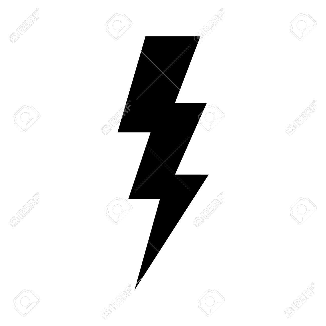 1300x1300 Lightning Bolt Silhouette Lightning Bolt Clipart, Explore Pictures