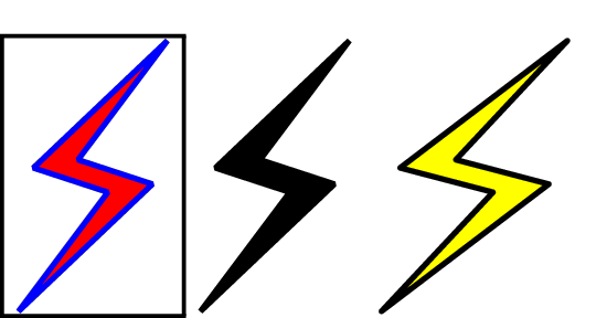 Line Drawing Unicode : Lighting bolt symbol free download best