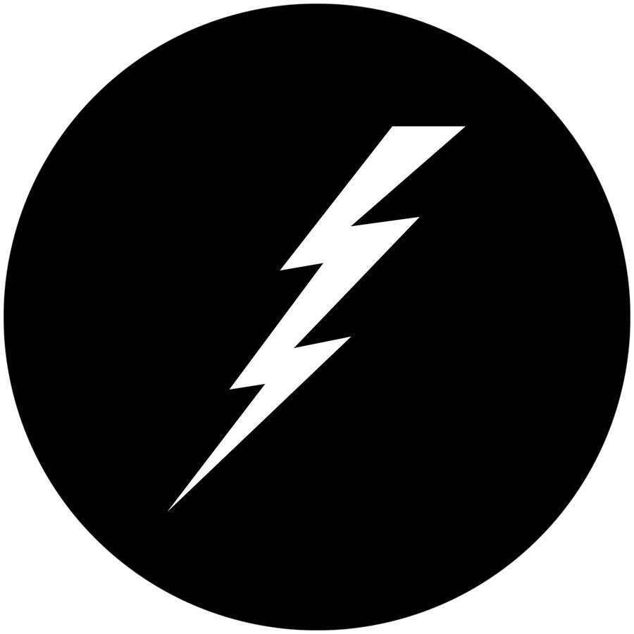 900x900 Lightning Bolt Apollo Gobo 1151