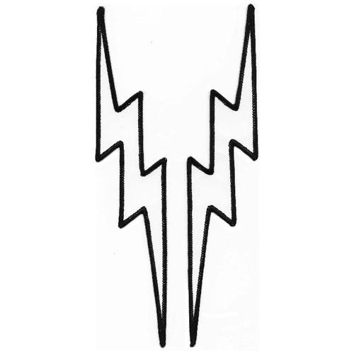 500x500 Lightning Bolt Black And White Clipart