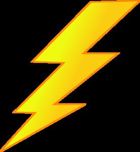 276x299 Lightning Bolt Clipart Black And White Free