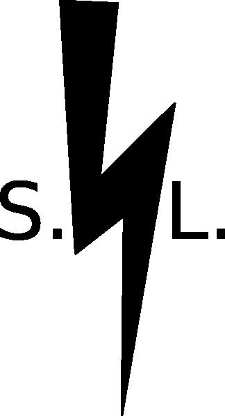 324x597 Black Lightning Bolt Clip Art