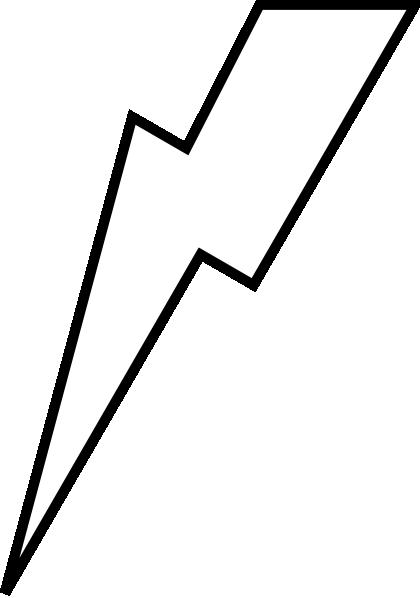 420x598 Lightning Bolt Clipart Black And White Free 3