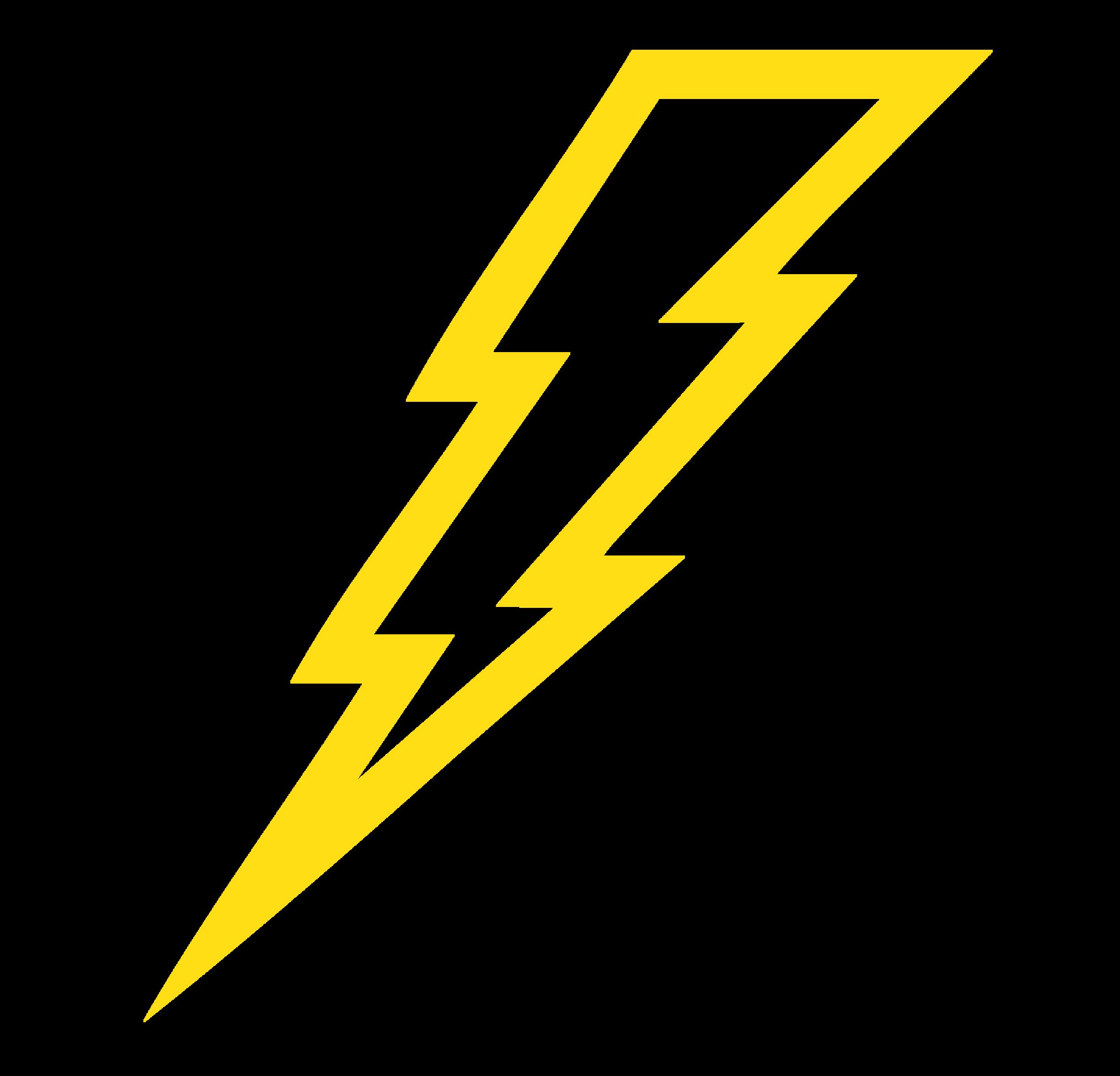 2500x2402 Clipart Of A Lightning Bolt