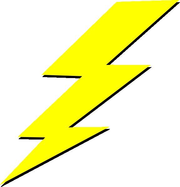 576x599 Lightning Bolt Clip Art