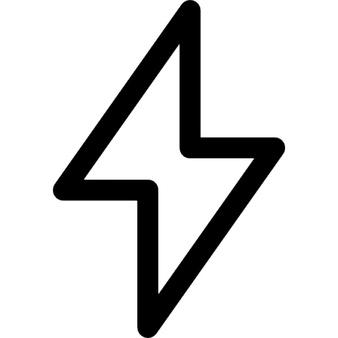Lightning Bolt Clipart Black And White