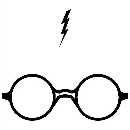 504x504 Black And White Harry Potter Clipart