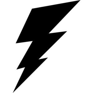 300x300 Zeus Lightning Bolt Clipart
