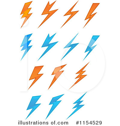 400x420 Lightning Bolt Clipart