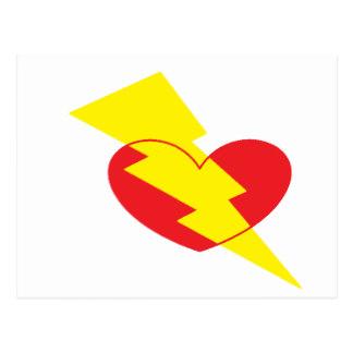 324x324 Lightning Bolt Postcards Zazzle