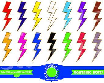 340x270 Lightning Bolt Svg Etsy