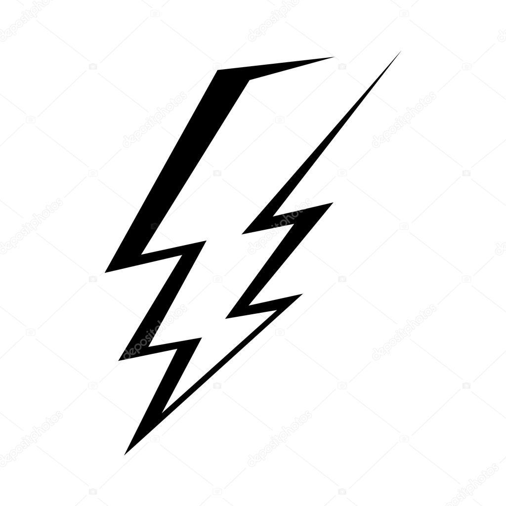 1024x1024 Lightning Bolt Vector Icon Stock Vector Briangoff
