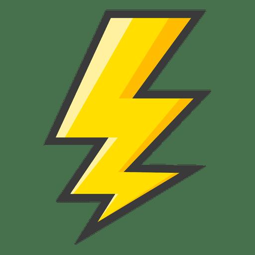 512x512 Lightning Bolt Yellow Symbol