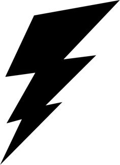 236x323 Mauve Clipart Lightning Bolt