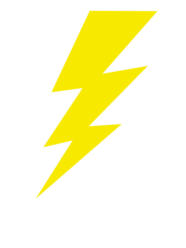 600x800 Lightning Bolt, Lightning Bolt Stickers By Aaron Booth Redbubble
