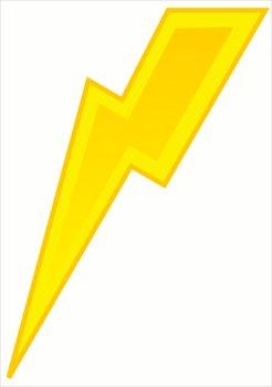 246x350 Free Lightning Yellow Bolt Clipart