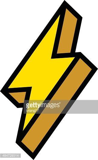 326x529 Lightning Bolt Stock Vectors