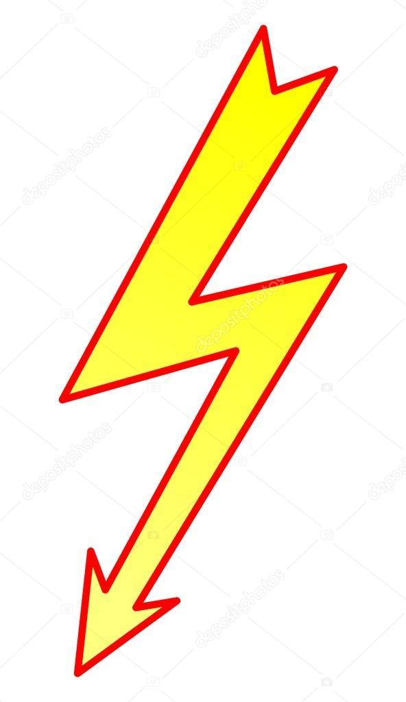 592x1024 Lightning Bolt Stock Vector Okeen