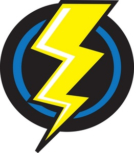 262x300 Lightning Clipart Image