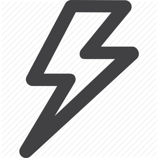 Lightning Bolt Outline