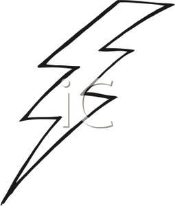 255x300 Lightning Black And White Clipart