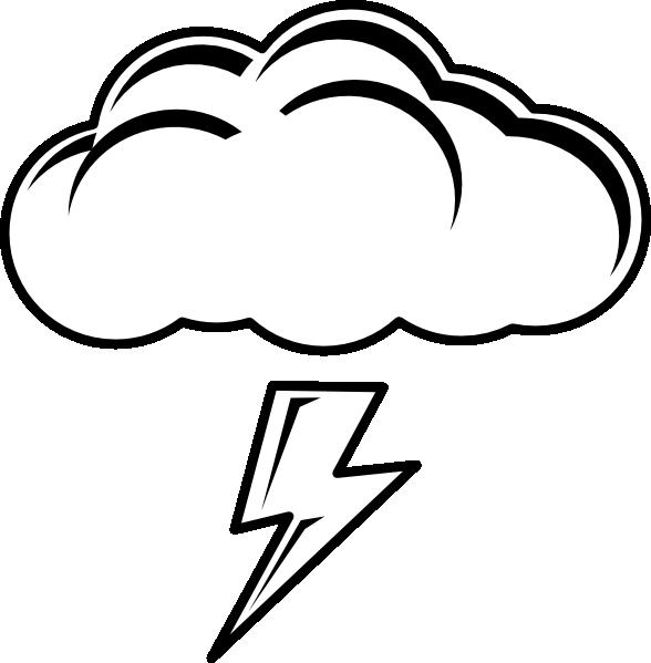 588x599 Lightning Bolt Image Of Bolt Clipart 4 Clip Art Half Moon