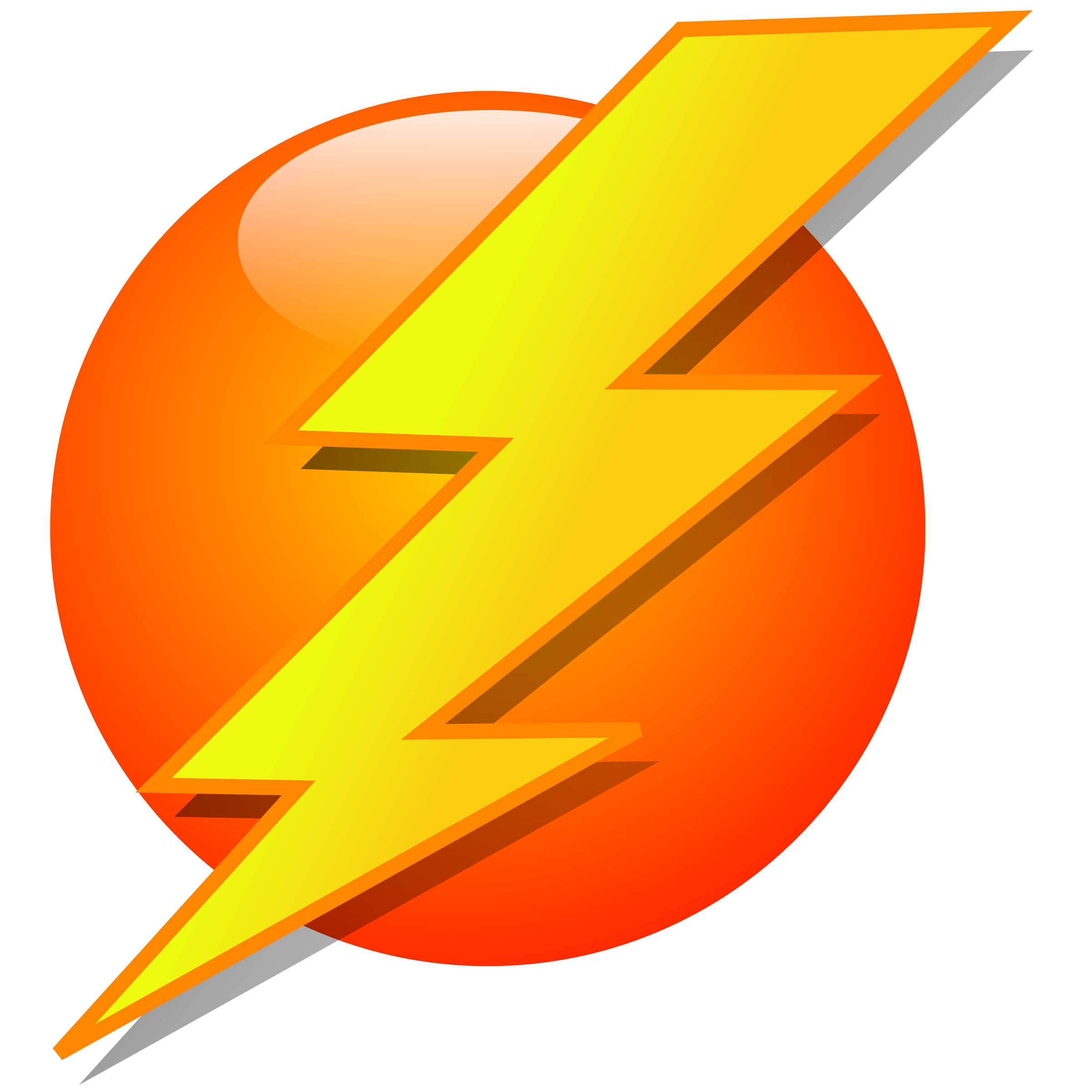 2400x2400 Black Lightning Bolt Id 16533 Clipart Pictures