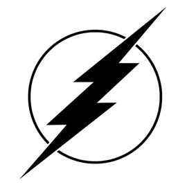 270x270 Free Lightning Bolt Stencil Lightening Clip Art Templates