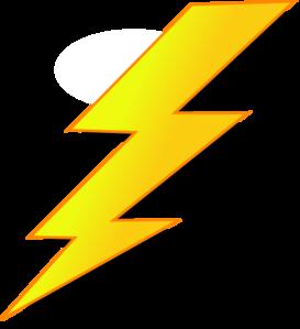 Lightning Bolts Clipart