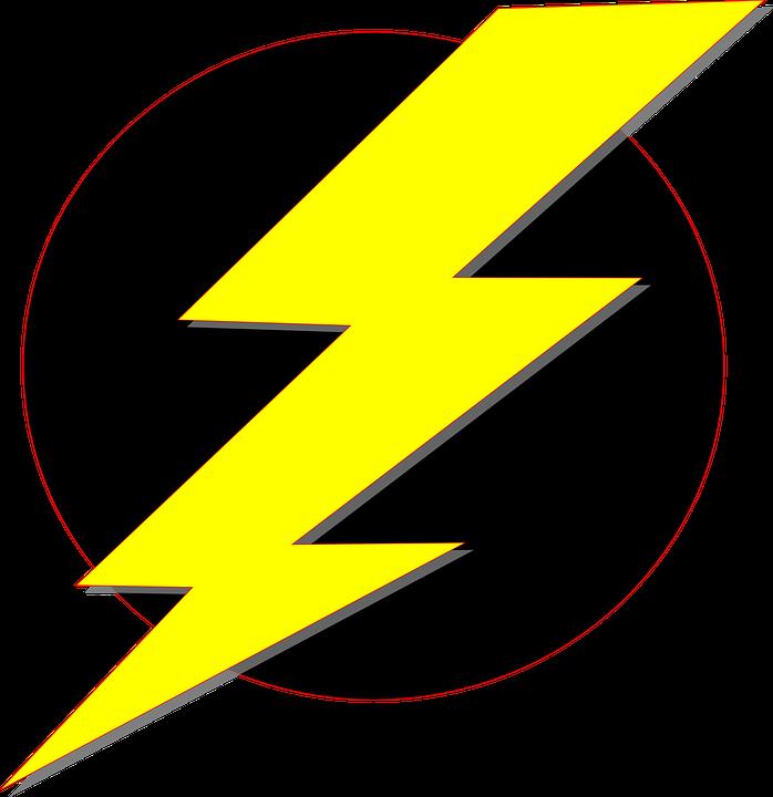 698x720 Flash Clipart Lightning