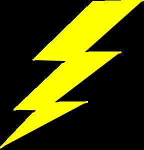288x300 Lightning Bolt Clip Art