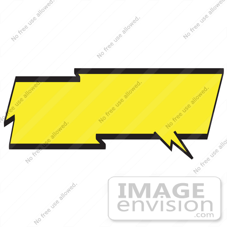 450x450 Royalty Free Cartoon Clip Art Of A Lightning Shaped Word Balloon