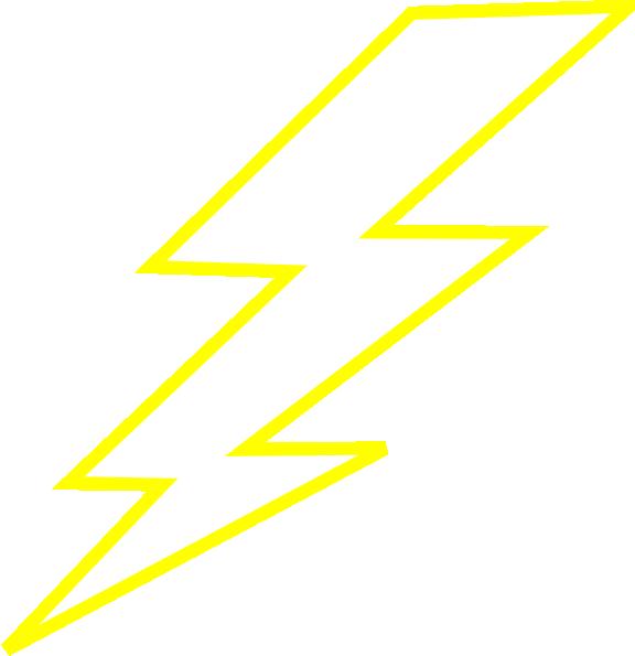 576x595 Clip Art Lightning Bolt Image 2