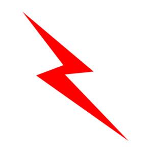 300x300 Clipart Of A Lightning Bolt