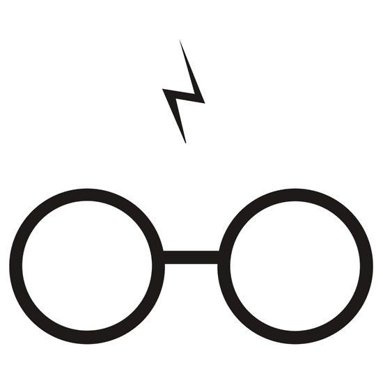 550x550 Lightning Clipart Harry Potter